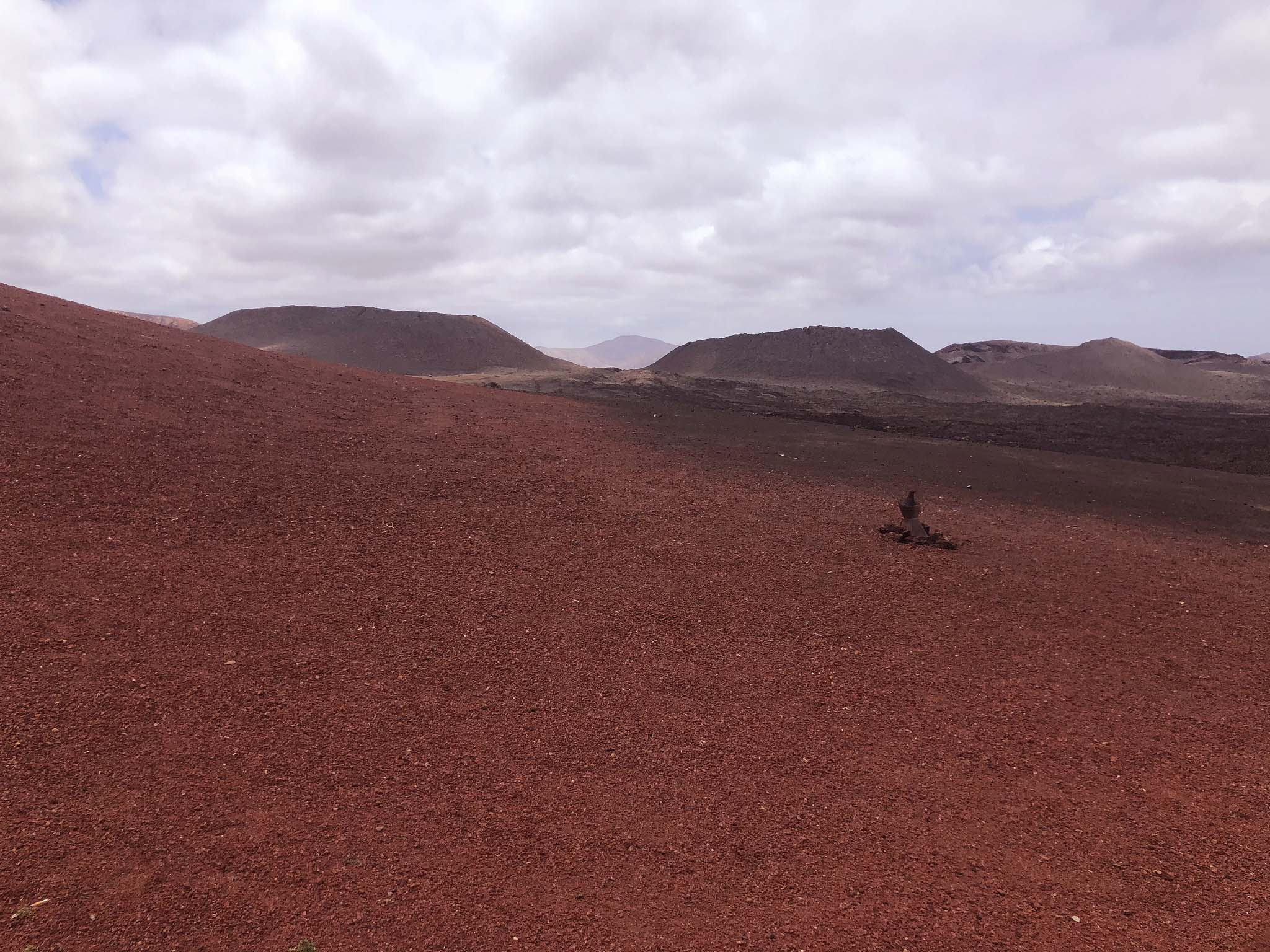 mars on earth in lanzarote