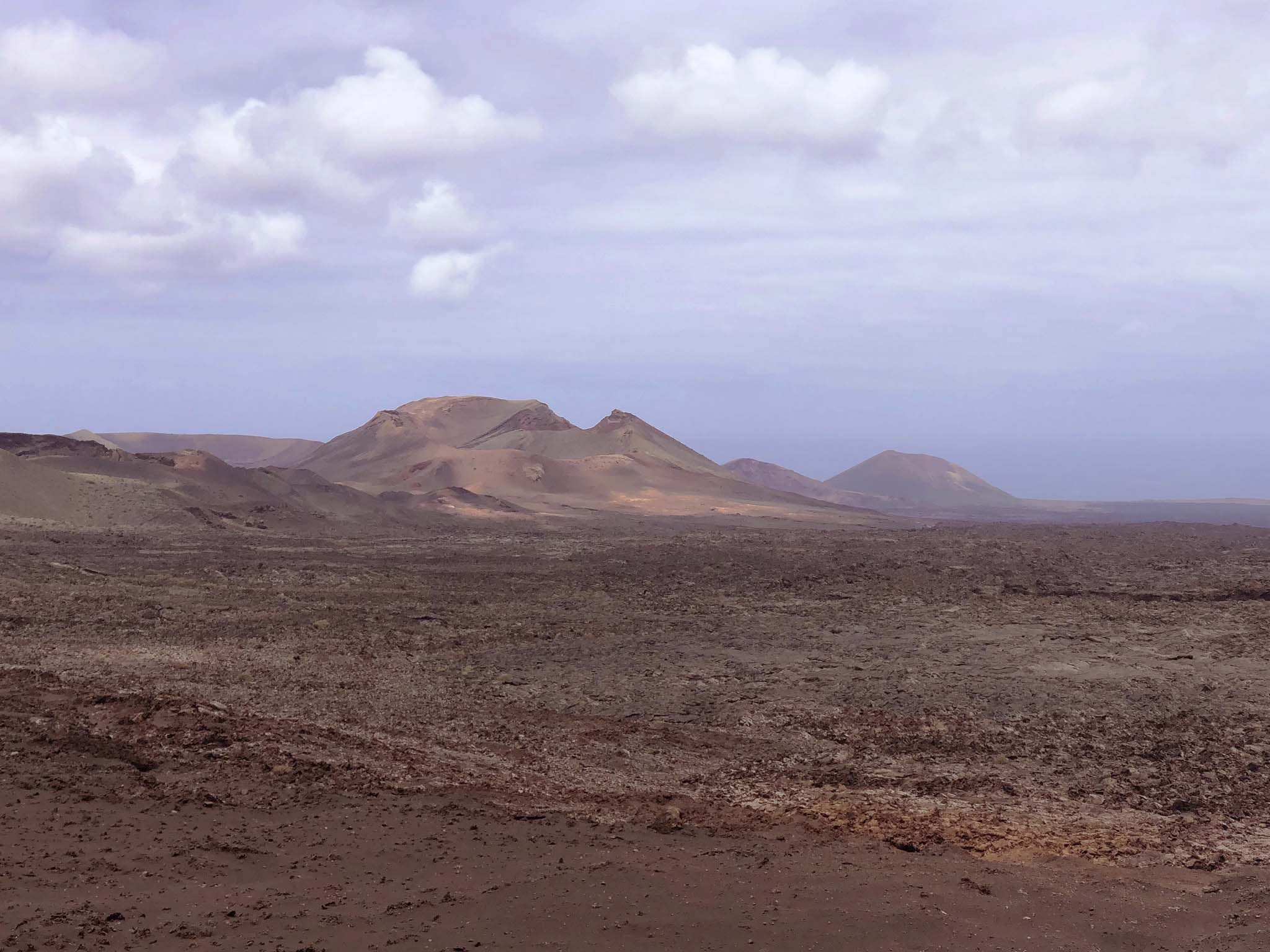 timanfaya national park mountains view from the top