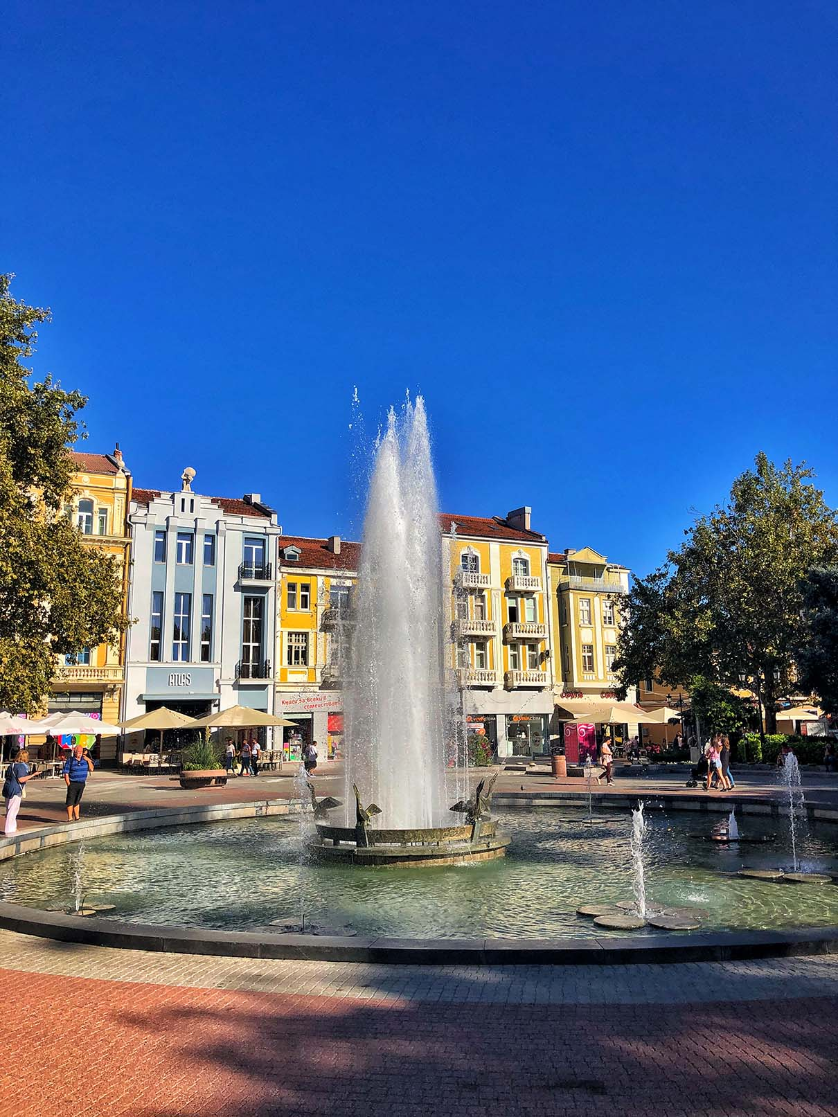 plovdiv center square