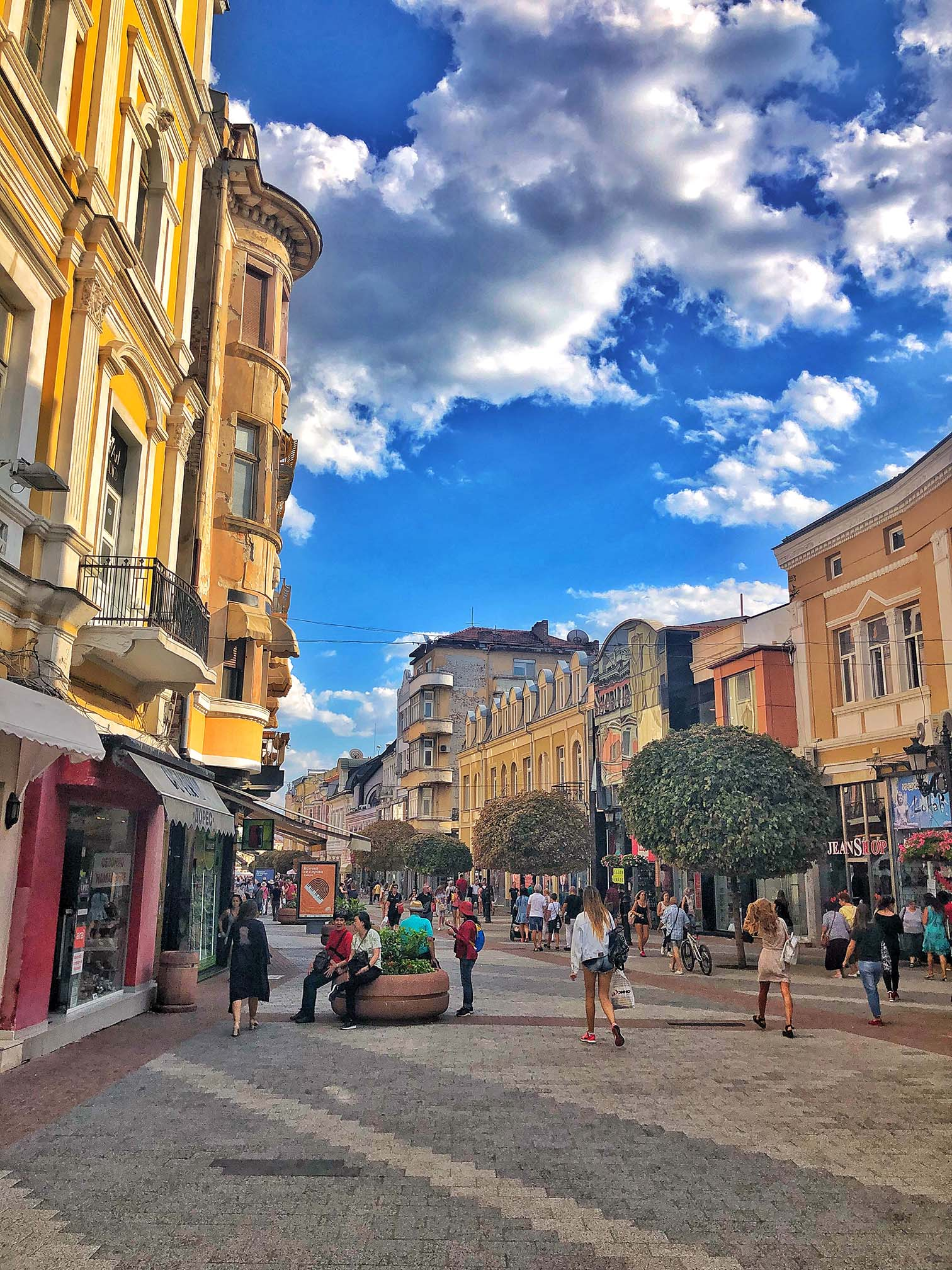 plovdiv city center