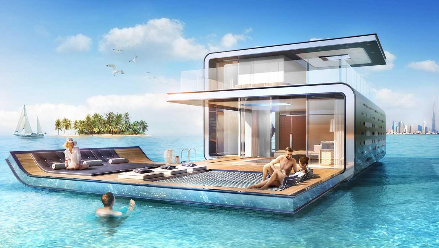 floating seahorse luxuries villa
