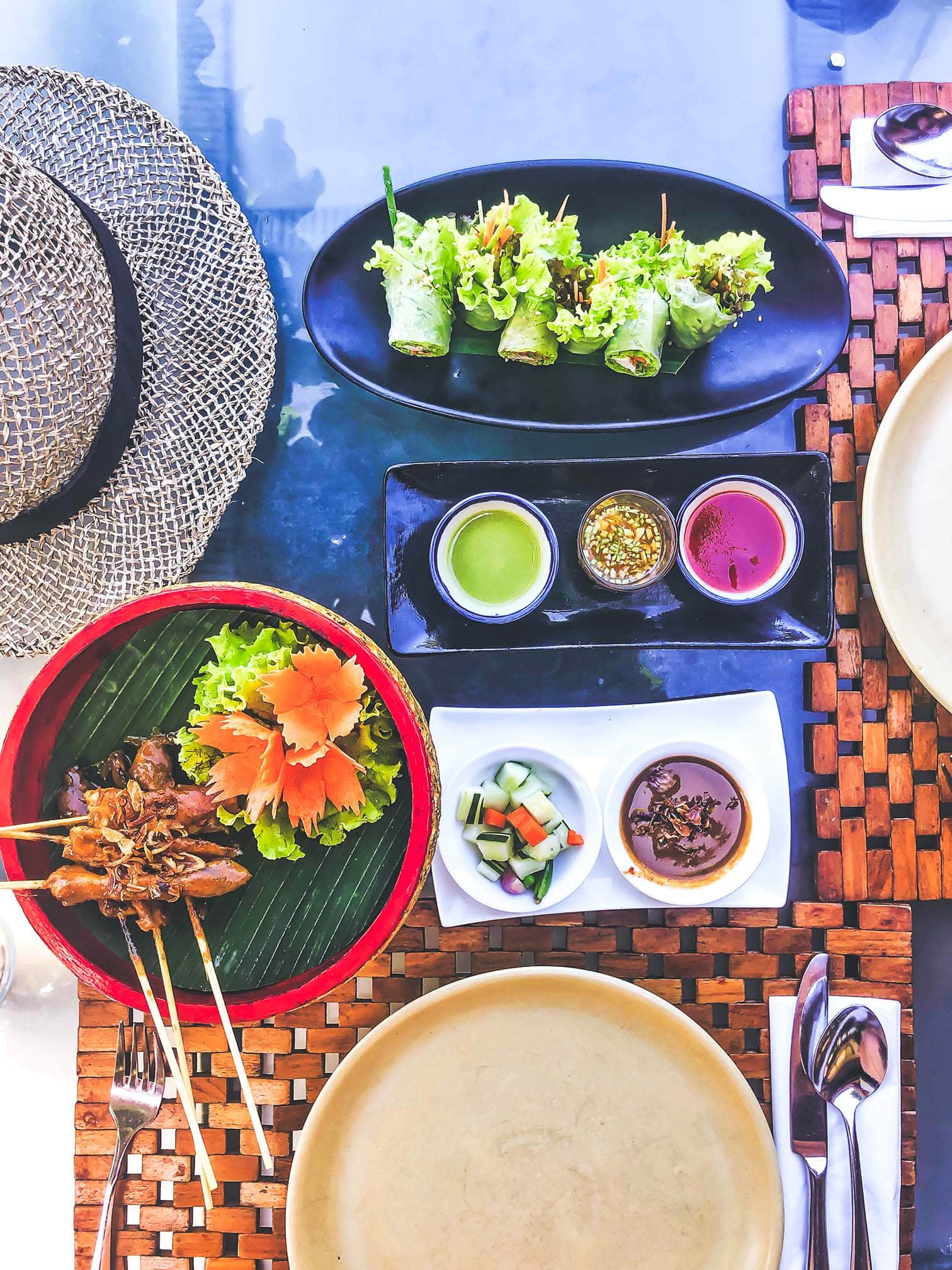 healthy food in Bali