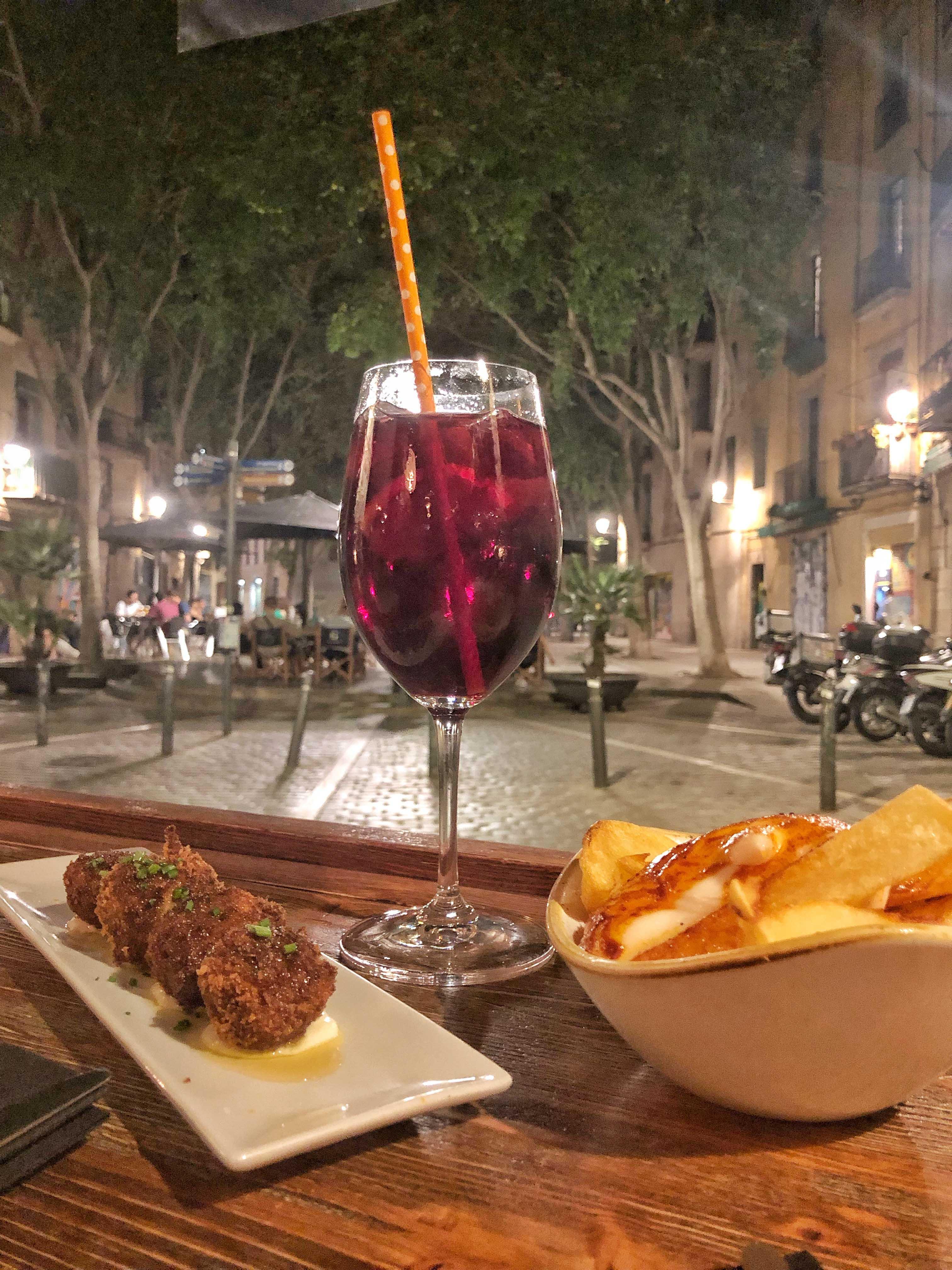 tapas and sangria barcelona
