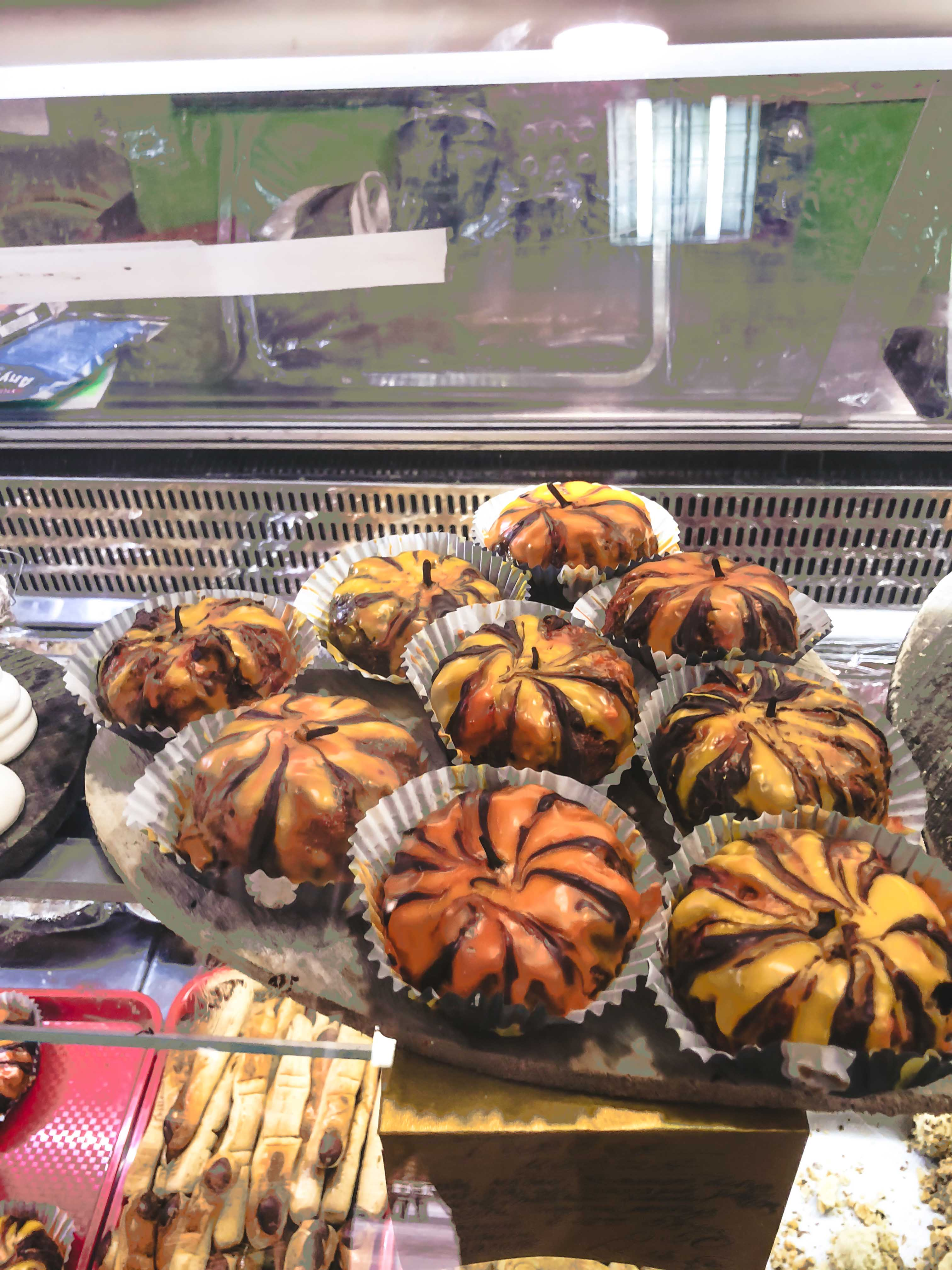 pumpkin muffin plovdiv street food
